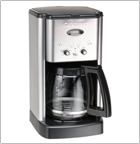 Cuisinart DCC-1200 12-Cup Brew Central Coffeemaker, Black and Stainless Steel
