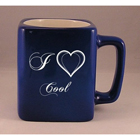 Laser Engraved Coffee Mug with I Love Cool