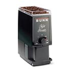 Bunn-O-Matic Corp. Home Coffee Grinder- Black