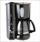 Melitta MEMB1B Mill & Brew 10-Cup Coffeemaker, Black