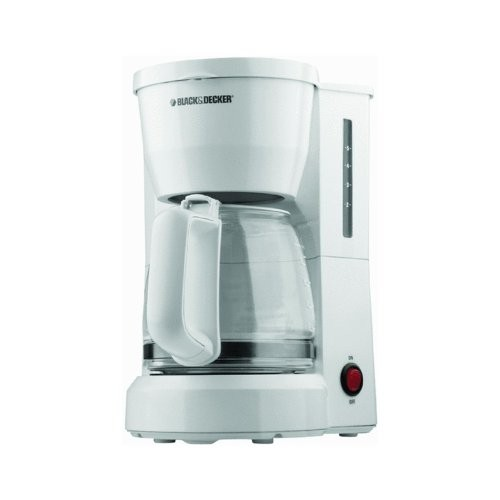 Farberware Automatic Coffee Maker Instructions : APPLICA DCM600W / BD 5c Coffee Maker GlsCrf Wht - Cheap Coffee Machines