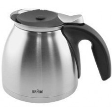 Braun Coffeemaker Metal Thermo Jar