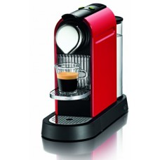 Nespresso Citiz C110-us-re Household Espresso Coffee Maker, Fire Engine Red with 16 Startup Coffee Sampler