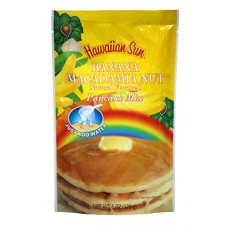 Banana Macadamia Nut Pancake Mix, 6 Ounce
