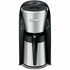 KRUPS KT720D50 Thermal Carafe Coffee Maker with Permanent Filter and Stainless Steel Housing, 10-Cup, Silver
