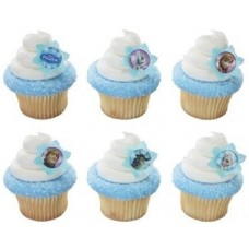 36 ~ Disney Frozen Adventure Friends Rings ~ Designer Cake/Cupcake Topper ~ New!!!!!