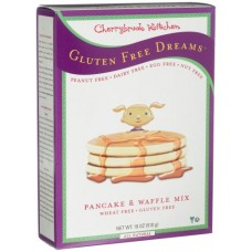 Cherrybrook Kitchen Gluten Free Dreams, Pancake & Waffle Mix, 18-Ounce Boxes (Pack of 6)