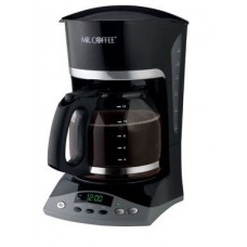 Mr. Coffee Programmable Coffeemaker Auto Shut-Off, Pause 'N Serve 12 Cup Black W