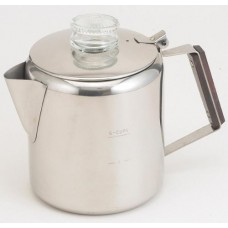 Rapid Brew Stainless Steel Stovetop Coffee Percolator, 2-6 cup