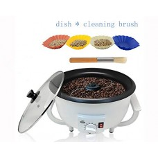 JIAWANSHUN Household Coffee Bean Roaster Durable Coffee Beans Baker Electric Coffee Beans Roasting Machine for Coffee Shop Home (110V)
