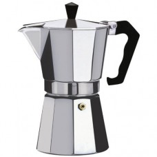 Xett Continental Espresso Stove-top Moka Coffee Maker / Percolator Jug - various sizes 2-cup, 6-cup, 9-cup, 12-cup (9 cup / 450ml)