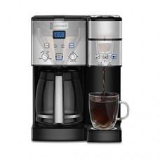 Cuisinart SS-15 12-Cup Coffee Maker and Single-Serve Brewer, Stainless Steel (Certified Refurbished)