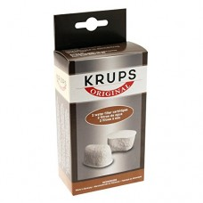 KRUPS F47200 Duo Filters Water Filtration System for KRUPS Coffee Makers Compatible with FMF / FME / 629 /619 /180 / 176 / 466 and 467, 2-Pack