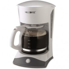 Mr. Coffee SK12 12-Cup Switch Coffeemaker, White