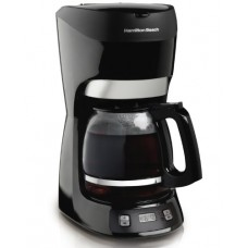 Hamilton Beach 49467 12 Cup Coffeemaker with Digital Clock