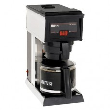 Bunn O Matic A10 Pourover Coffee Brewer - 1 Warmer, Black, 2.9 Gallon Per Hour, 50 Ounce Decanter, Fits Any Counter, 14.7 X 6.7X 12.9, 120 Volts, 9.5 Amps, 1140 Wattts, Cord Attached -- 1 Each.