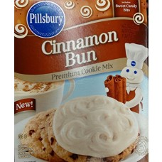 Pillsburry Cookie Mix 17.5oz Box (Pack of 6) Select Flavor Below (Cinnamon Bun)