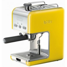 DeLonghi Kmix 15 Bars Pump Espresso Maker, Yellow