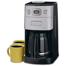 Cuisinart DGB-625BC Grind-and-Brew 12-Cup Automatic Coffeemaker, Brushed Metal (Certified Refurbished)