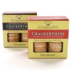 Crackerthins Australian Watercrackers - Black Pepper (5.3 ounce)