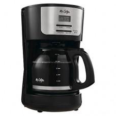 Mr. Coffee 12 Cup Programmable Coffeemaker - Black