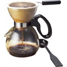 Yama Glass 18 oz Coffee/Tea Sock Pot (Sock Included)
