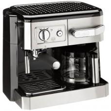 Delonghi BCO420 Espresso Coffee Maker, 220-volt (Non-USA Compliant), Silver
