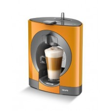 NESCAFE Dolce Gusto Oblo Coffee Capsule Machine by KRUPS - Orange by KRUPS