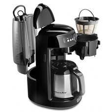 KitchenAid KCM1203OB 12-Cup Thermal Carafe Coffee Maker - Onyx Black