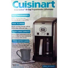 Cuisinart 14-Cup Coffeemaker Machine Brew Central Programmable CBC-5200PC