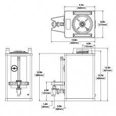 BUNN 27850.000100000001 1.5 gallon Soft Heat Portable Server, Black/Stainless Steel