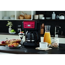 Mr. Coffee Brewing Coffee Maker (12-Cup Programmable, Red BVMC-KNX26)