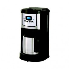 Bella 10-Cup Programmble Coffeemaker Thermal Carafe, Black