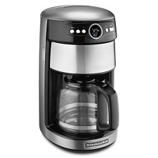 KitchenAid KCM1402CU 14-Cup Glass Carafe Coffee Maker - Contour Silver