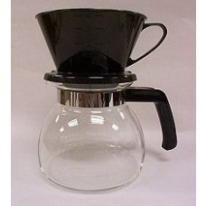 Melitta Manual Drip Coffeemaker 6 Cup Brown