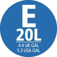 Brabantia Smartfix Bin Liner Dispenser Pack Size E 20L (40)