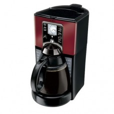 MR COFFEE COFFEE MAKER PROGRAMMABLE 12 CUP RED