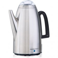 New 12-Cup modern Coffee Percolator in Stainless Steel