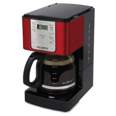 Mr. Coffee 12 Cup Programmable Red Coffee Maker RED