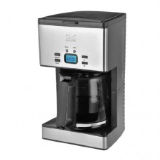 Kalorik Programmable Stainless Steel Coffee Maker, 12-Cup