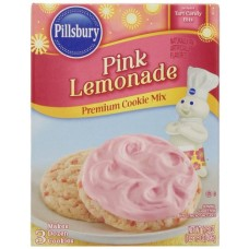 Pillsbury Pink Lemonade Flavored Cookie Mix, 17.5 Ounce (Pack of 12)