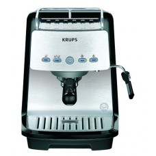 Krups XP4050 1200-Watt 15-Bar-Pump Programmable Espresso Machine