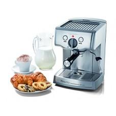 Espressione-Ariete (a company of De'Longhi Group) 1324 Cafe Minuetto Professional Die-Cast Espresso/Cappuccino Maker, Silver