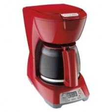 Selected PS 12cup Coffeemaker Red By Hamilton Beach