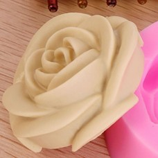 3D DIY Rose Flower Fondant Cake Chocolate Sugarcraft Mold Cutter Silicone Tools