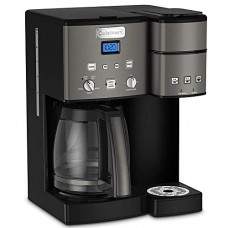 Cuisinart SS-15 12-Cup Coffee Maker and Single-Serve Brewer, Black with Extended Warranty
