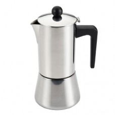BonJour Coffee Tea Stainless Steel 6-Cup Stovetop Espresso Maker