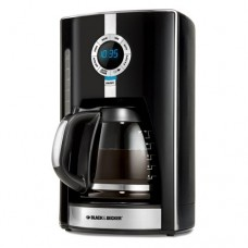 Black & Decker CM1650B 975-Watt 12-Cup Programmable Coffeemaker with Brew Strength Selector
