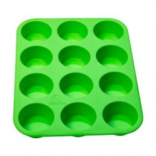 Statko® 12 Cup 100% Pure Food Grade Silicone Muffin Pan