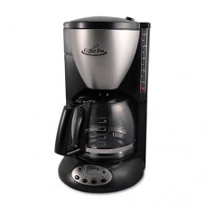 Coffee Pro - Home/Office Euro Style Coffee Maker, Black/Stainless Steel CP12BP (DMi EA